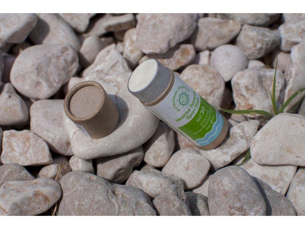 Butterbean Sport Stick - ochranná prírodná tyčinka na opaľovanie SPF 30 - Butterbean Organics