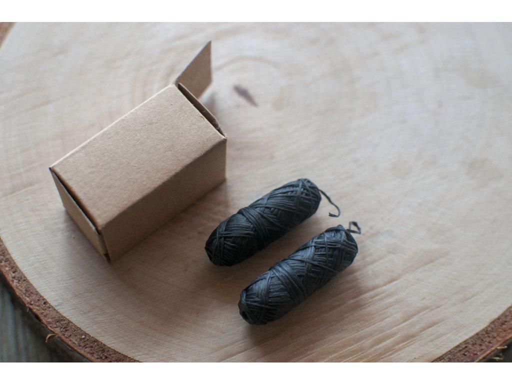 Dentálna niť z bambusového uhlia set 2 ks náhradných náplní Yoni 5