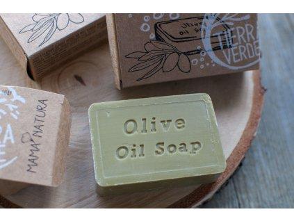 Olivové mydlo na ruky prírodné mydlo MAMA NATURA Tierra Verde 4