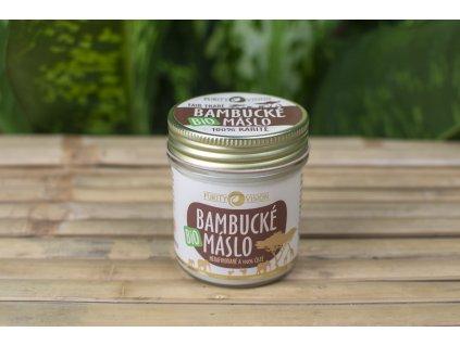Bambucké maslo BIO - Purity Vision