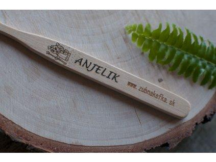 Bambusová zubná kefka %22Anjelik%22 Zubnakefka 1
