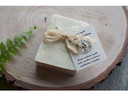 Kastílske mydlo s bahnom z mŕtveho mora prírodné mydlo Saipo 1