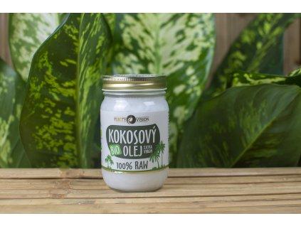 Kokosový olej BIO 100 % RAW - Purity Vision