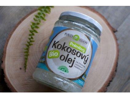 Kokosový olej panenský BIO 600 ml Purity Vision