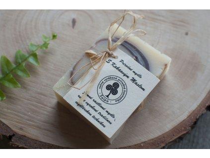 Mydlo s kakaovým maslom a mätou prírodné mydlo Saipo 1