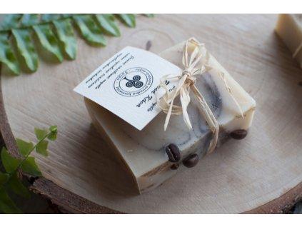 Ranná káva prírodné mydlo s kávou Saipo 8