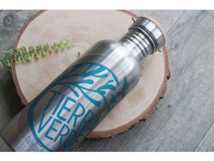 Kovová fľaša pre bezobalový predaj Tierra Verde 1