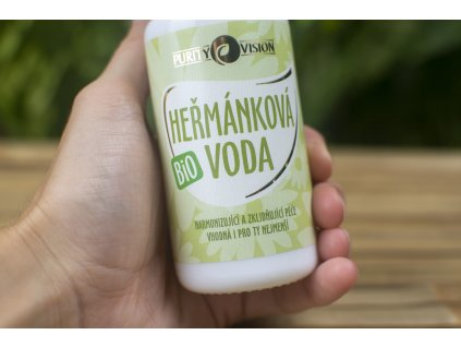 Harmančeková voda BIO Purity Vision 8