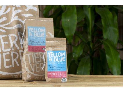 Bika - jedlá sóda, sóda bicarbona, hydrogénuhličitan sodný - Yellow & Blue / Tierra Verde