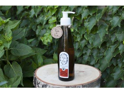 Prírodný sprchový gél Lesná jahoda Ťuli a Ťuli 4