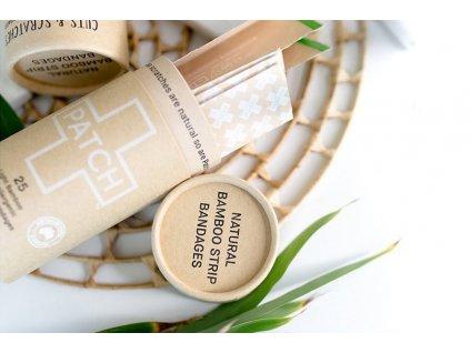 Bambusové kompostovateľné náplaste natural (svetlé) Nutricare