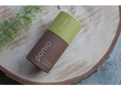Pazúch Lemongras sodafree prírodný deodorant bez sódy Ponio 3