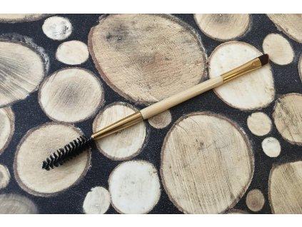 Bambusová kefka na maľovanie rias obojstranná Híling Zdravá Krása 20