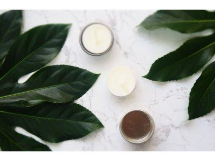 Kovový svietnik pre čajovú sviečku - Jemnô