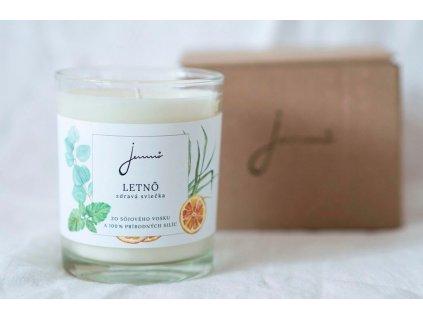 Letnô sójová sviečka Jemnô