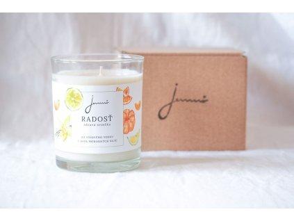 Radosť sójová sviečka Jemnô