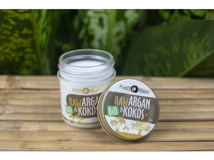 Argan a Kokos RAW BIO Purity Vision 5