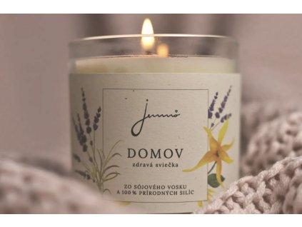 Domov sviečka Jemnô