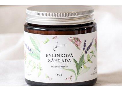 Bylinková záhrada Levanduľa, Materina dúška a Šalvia sójová sviečka Jemnô