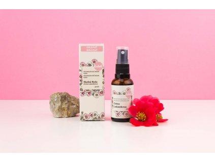 Organická kvetinová voda Skalná Ruža (Cistus) Kvitok 2