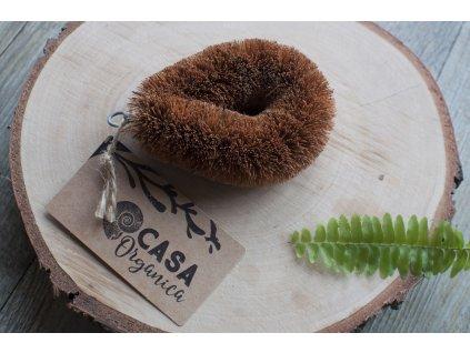 Kokosová kefa na zeleninu a riad CASA Organica Tierra Verde 3