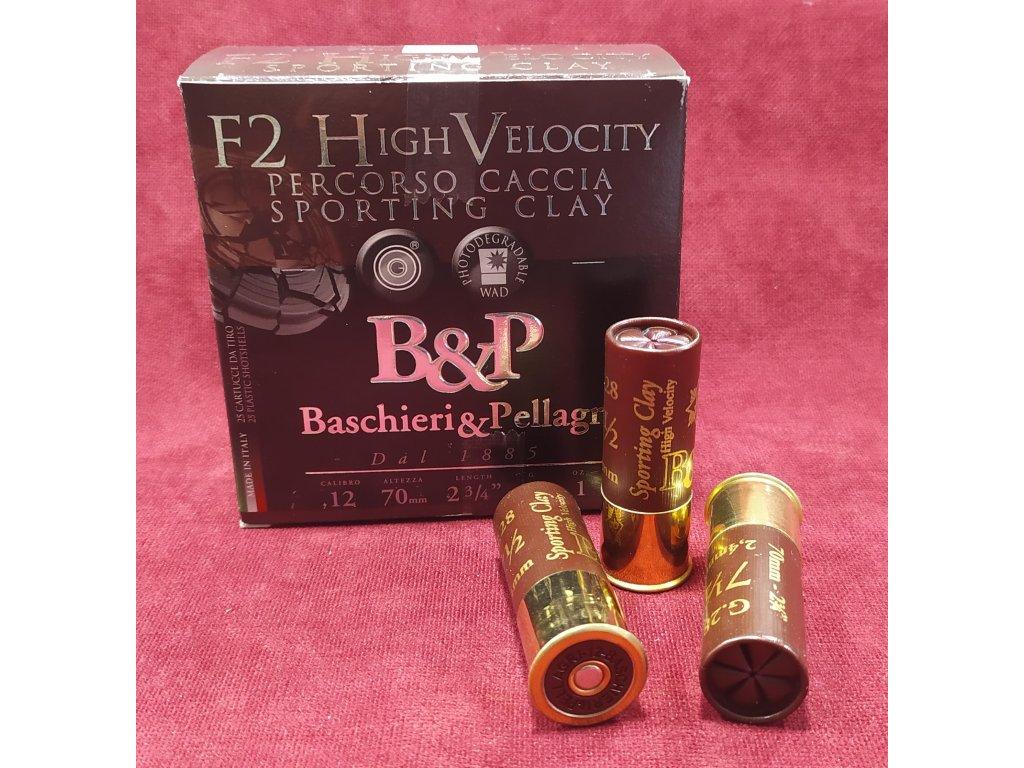 B&P 12/70 F2 Sporting HV 2,4mm (7,5), 28g