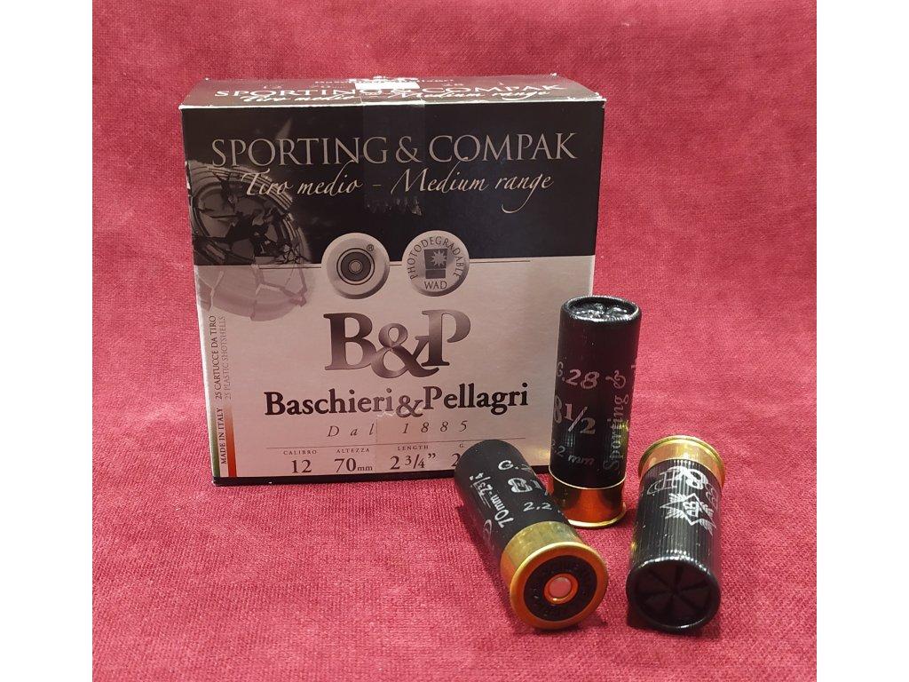 B&P 12/70 Sporting&Compak Medium Range 2,2mm (8,5), 28g