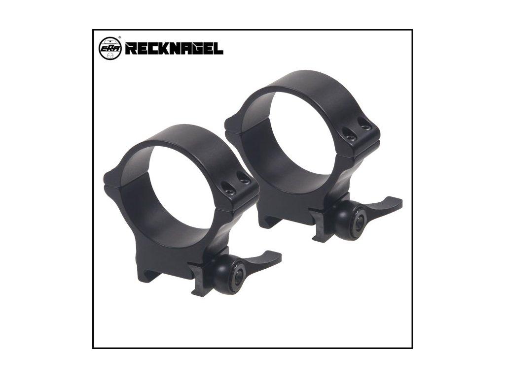 Weaver kroužky Recknagel 40mm, 12mm, rychloupínací