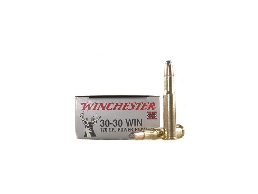 Náboj kulový Winchester  30-30 Win., PP, 170gr