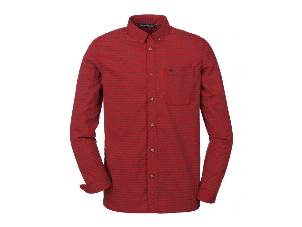 Košile Blaser Sergei červená