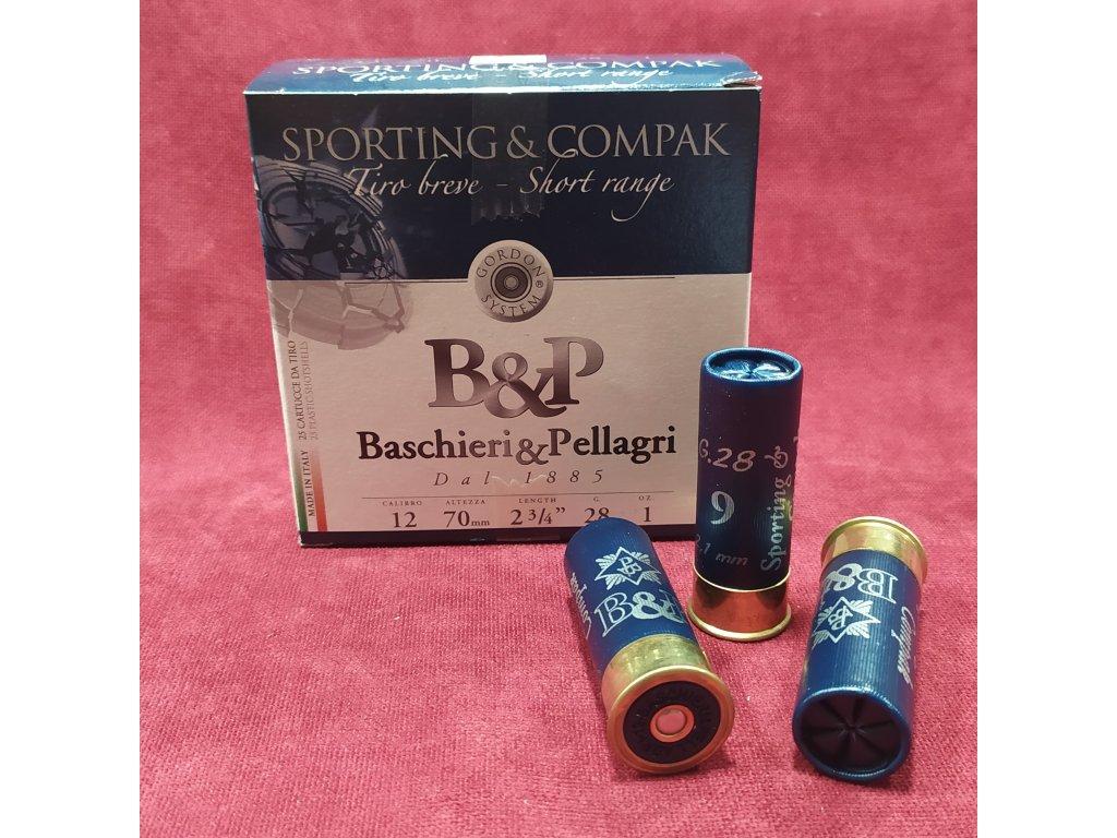 B&P 12/70 Sporting&Compak Short Range 2,1mm 28g