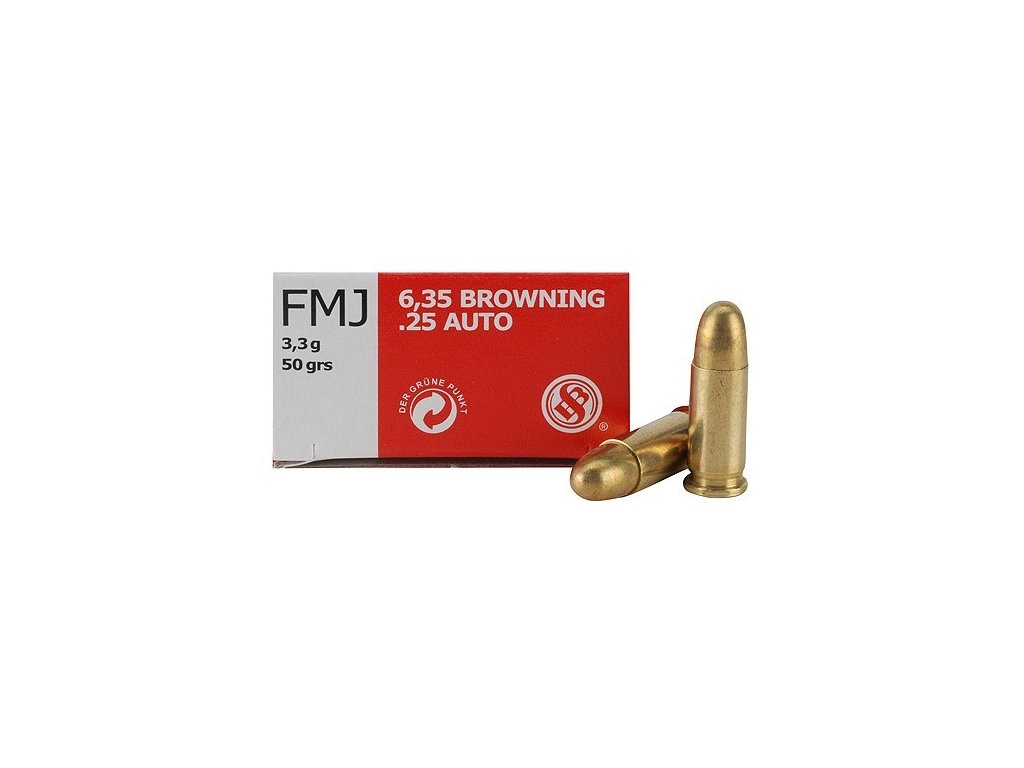 6,35BR FMJ