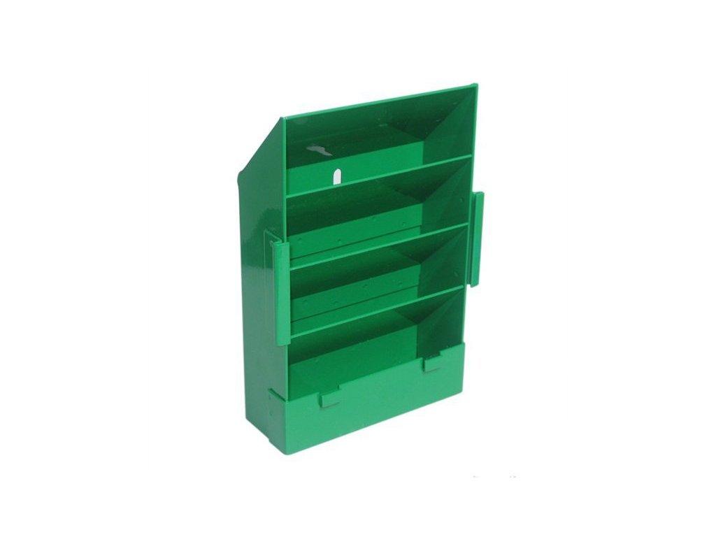 Lapač zelený plochý