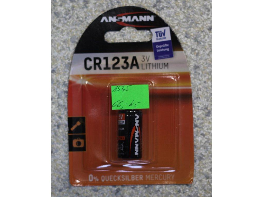 Baterie CR 123A 3V, Foto