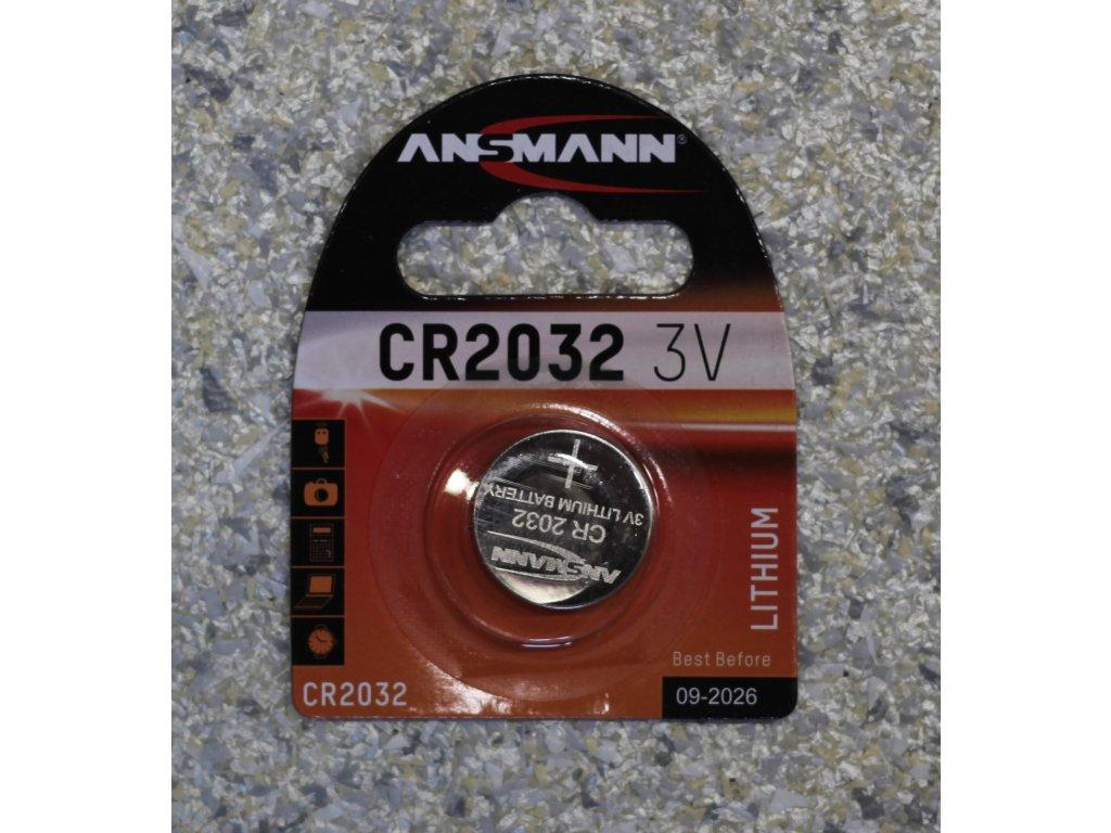 Baterie CR2032 3V