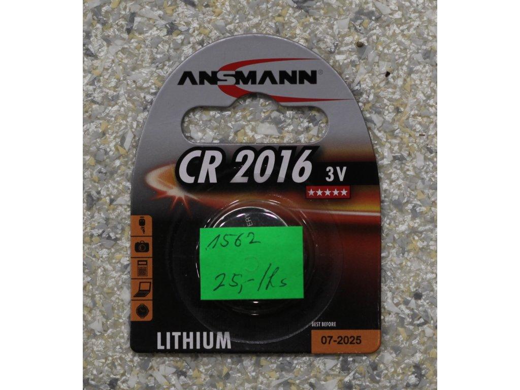 Baterie CR2016 3V