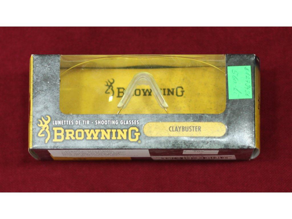 Střelecké brýle Browning žluté