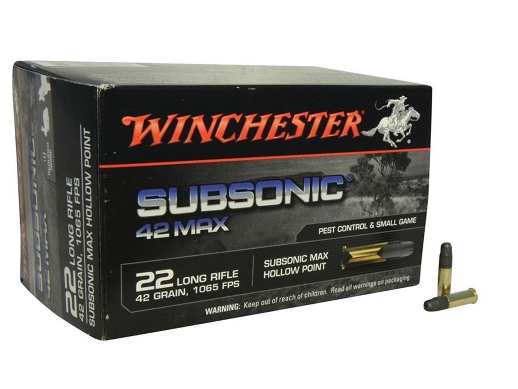 Winchester 22lr subsonic