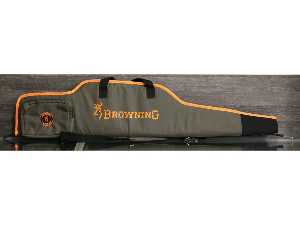 Pouzdro Browning na pušku s optikou, green/blaze 117cm