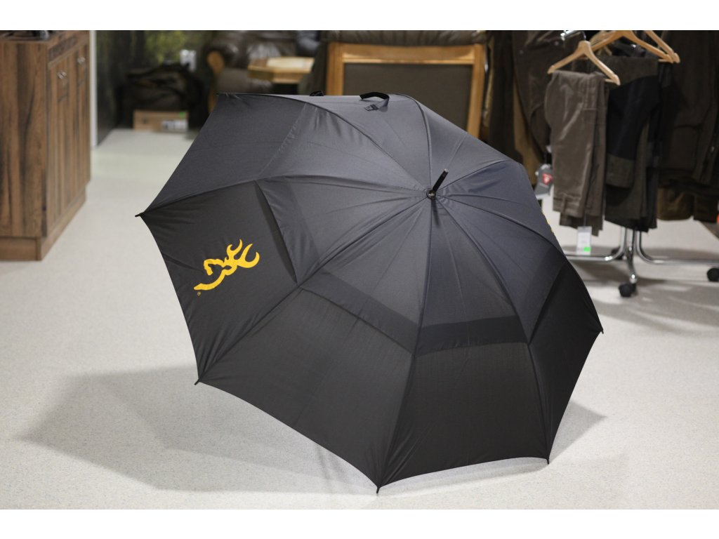 Deštník Browning, černý