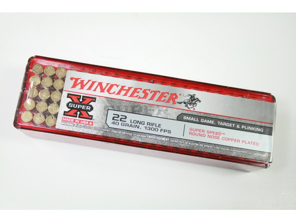Winchester Super X 22 LR SS RN CP Small Game Target Plinking 2