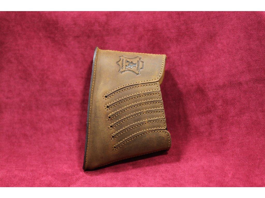 Kožená botka na pažbu, 20mm