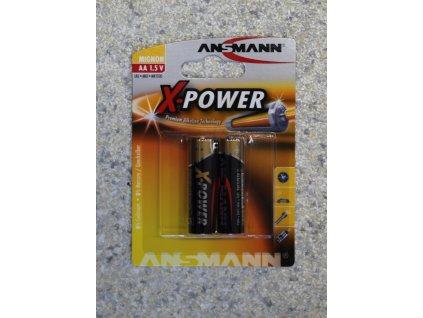 Baterie tužková AA 1,5V Alkalická