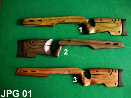 pažba CZ455 Target laminated wood