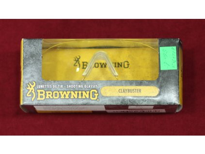 Střelecké brýle Browning čiré