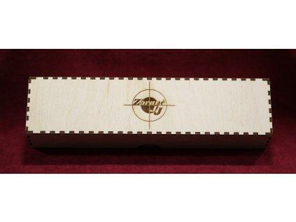 Dárková dřevěná krabička