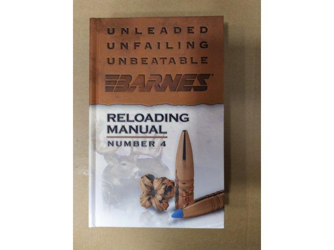 kniha manual přebíjení Barnes