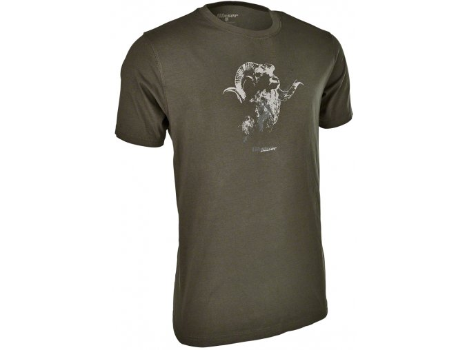 114 021 T shirt logo oliva
