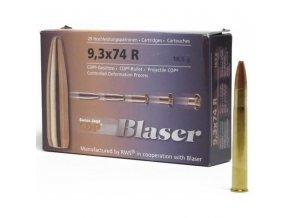Náboj kulový Blaser 9,3x74R, CDP, 18,5g