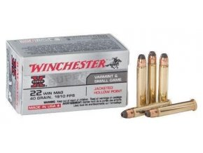 winchester super x 22 win mag 40gr jhp 1910fps x22mh 1